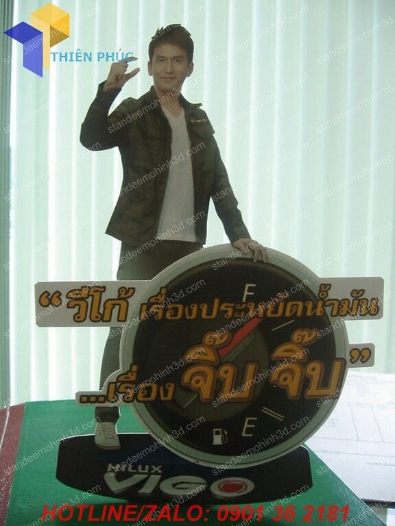 standee khung sat 3d